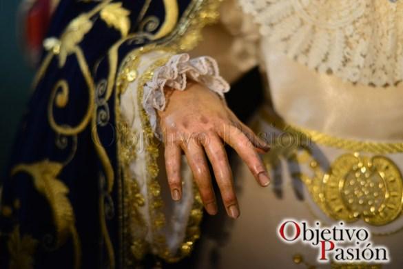 Besamano de María Santísima de las Penas