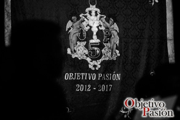 Presentación cartel V Aniversario Objetivo Pasión