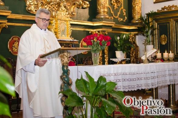 Misa de inicio del V Aniversario de Objetivo Pasión