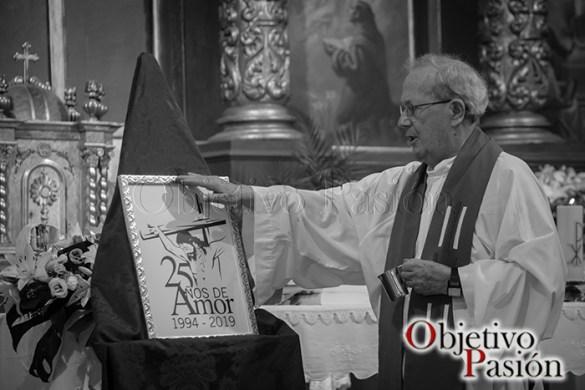 Presentación logo 25 Aniversario Cristo del Amor