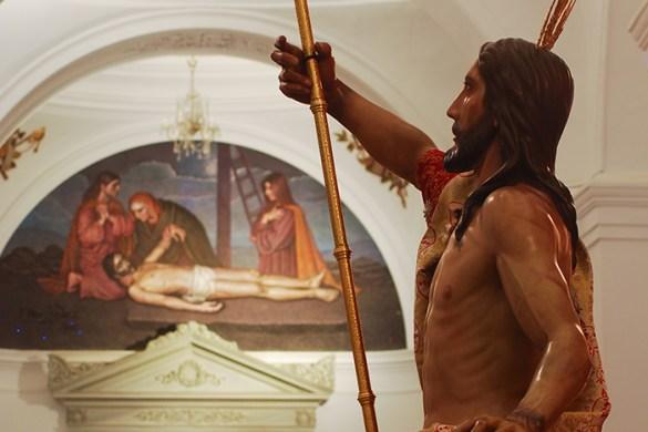 Cristo Rey -NPJ en su triunfal y gloriosa resurrección