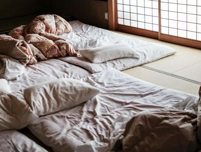 le futon japonais le matelas