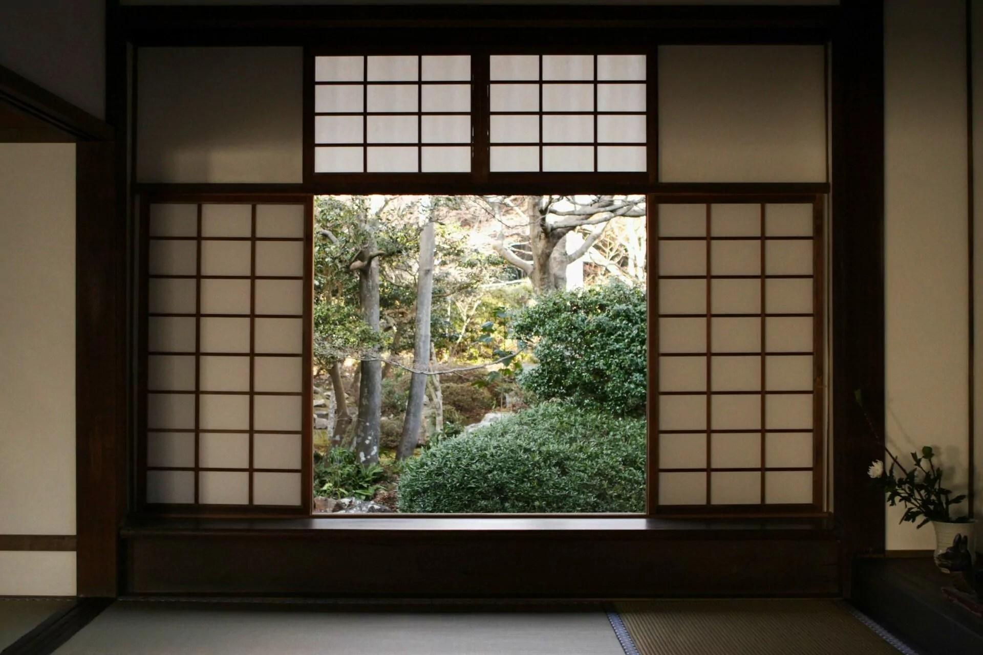 shōji le panneau coulissant japonais