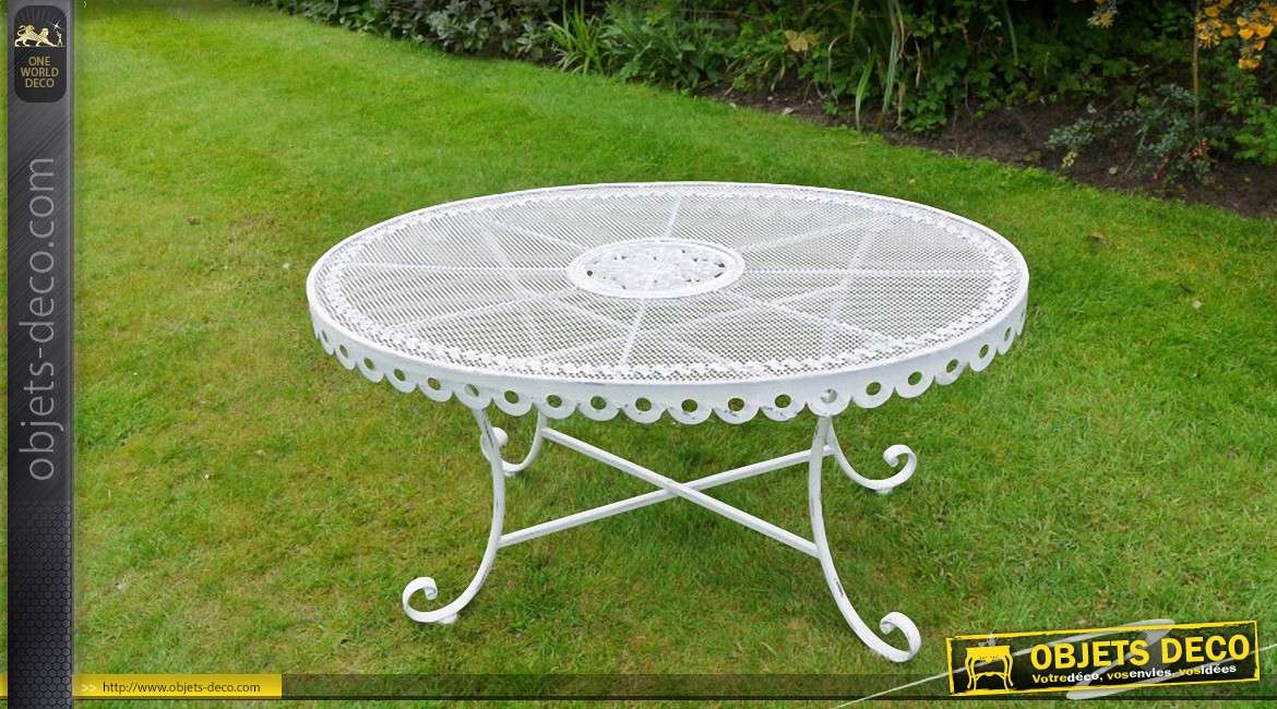 Stunning Table Jardin Ancienne Fer Forge Ideas  Awesome
