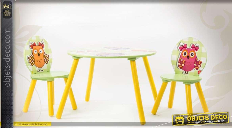 Chaise En Bois Pour Enfant Excellent Ensemble Table Et