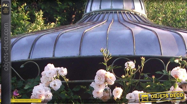 grande gloriette en fer forge artisanal avec finition personnalisee o 3 25 metres