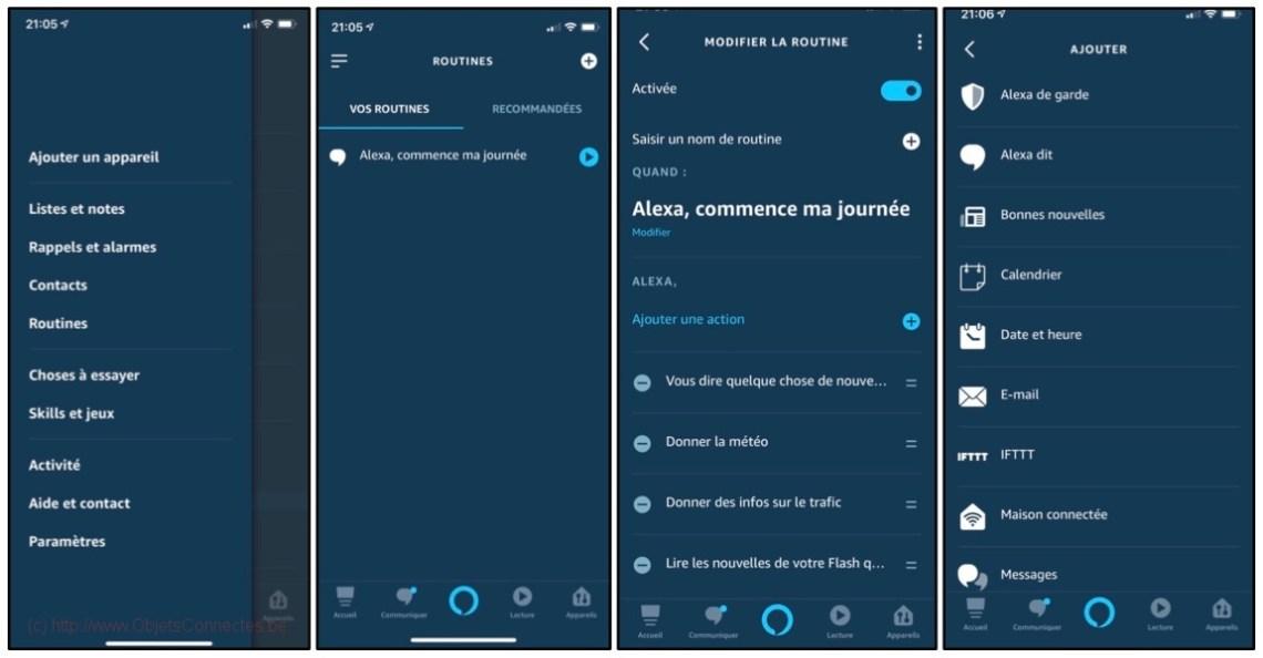 Amazon Alexa Echo Show - Routine