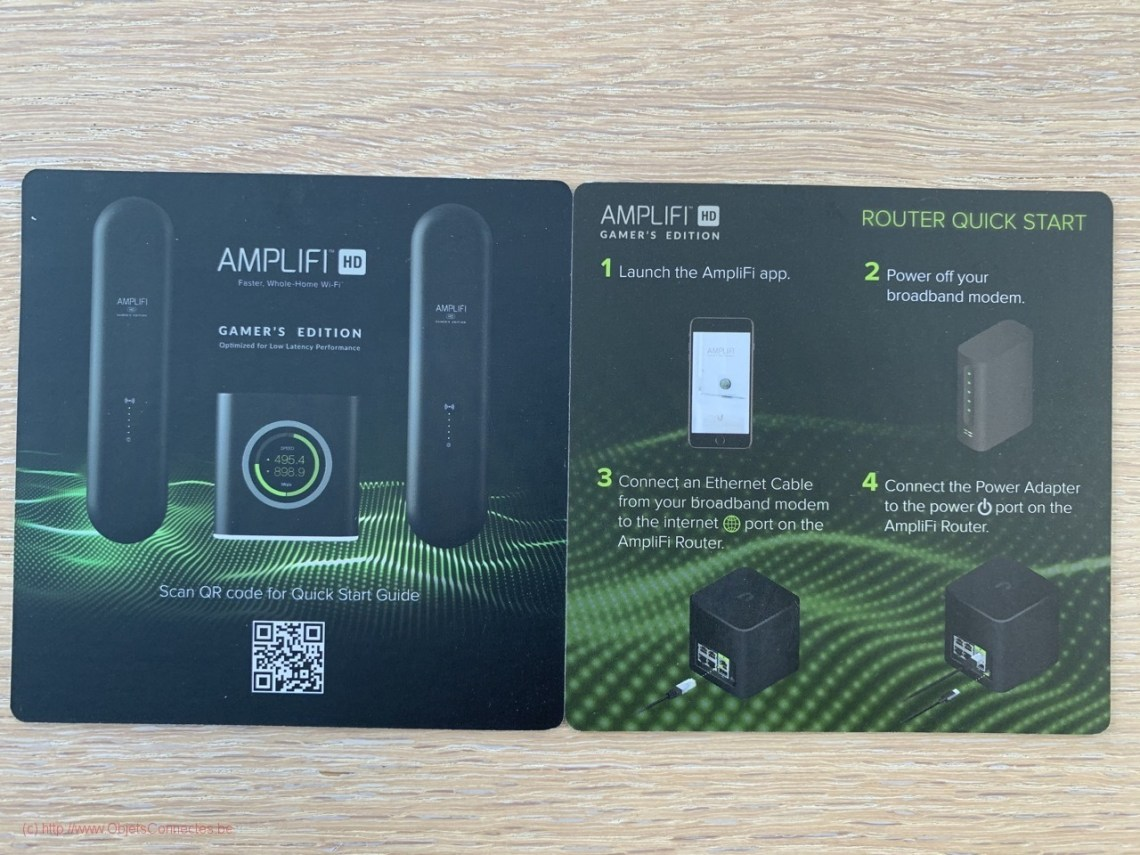 Amplifi Wifi Mesh Gamer's Edition - Le mode d'emploi