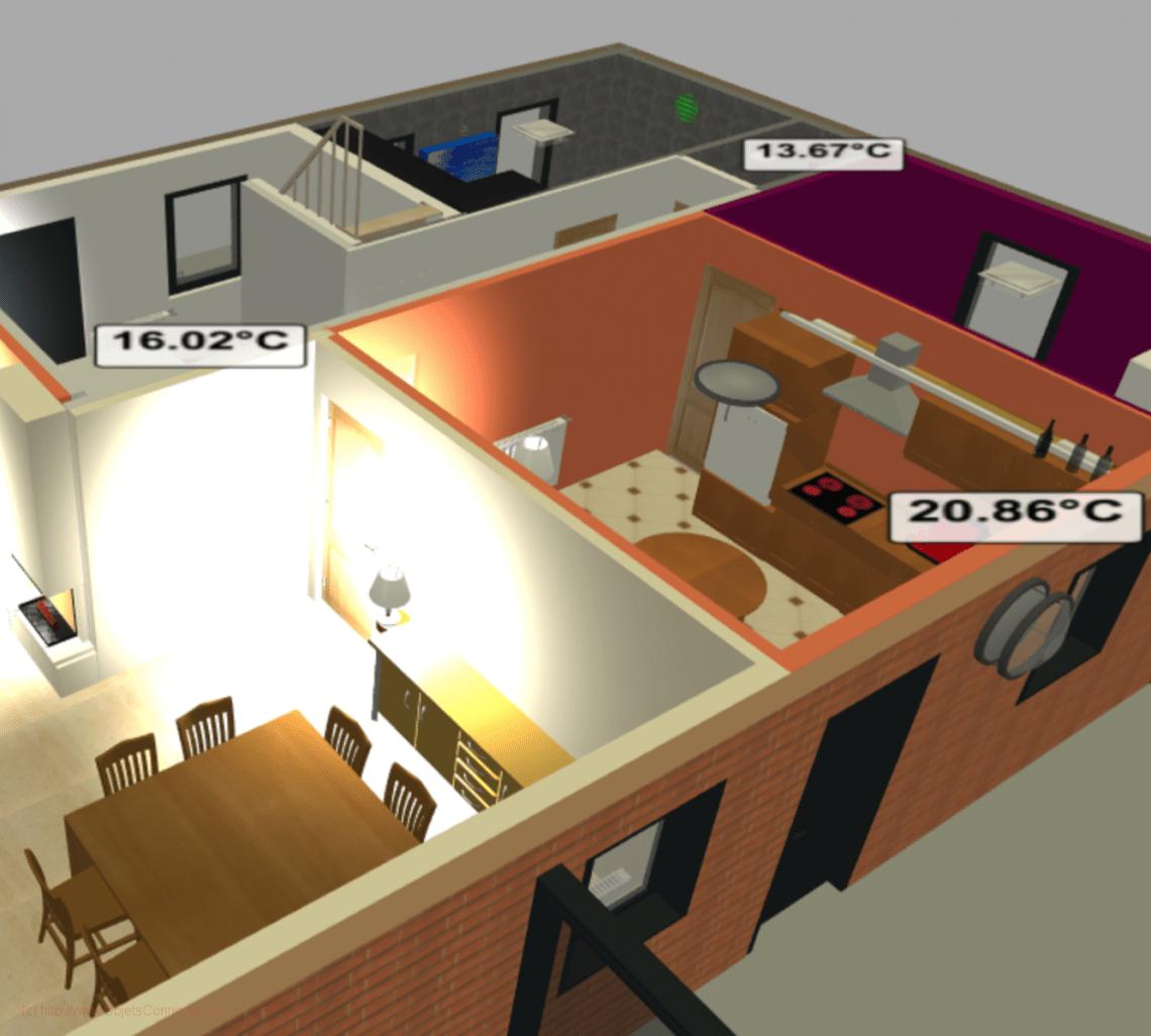 Design 3D dans Jeedom -