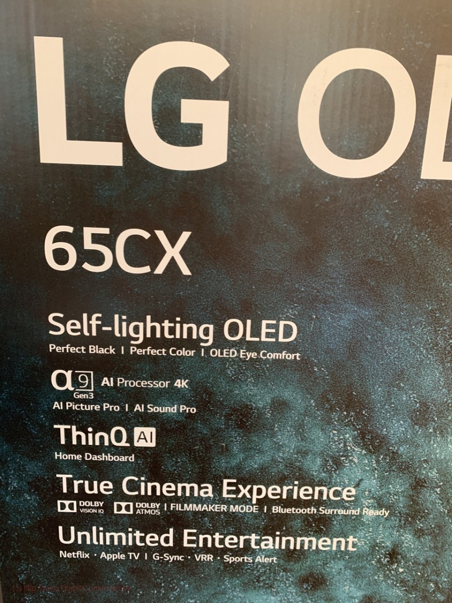 Télévision-LG-OLED-65CX-337