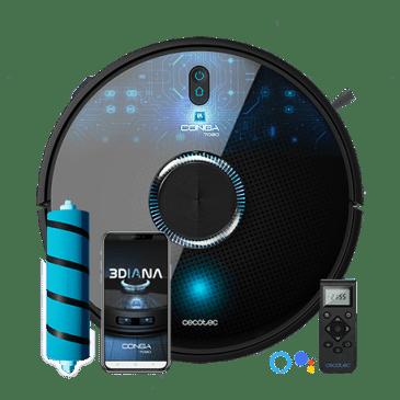 Robot Aspirateur Conga 7090 IA