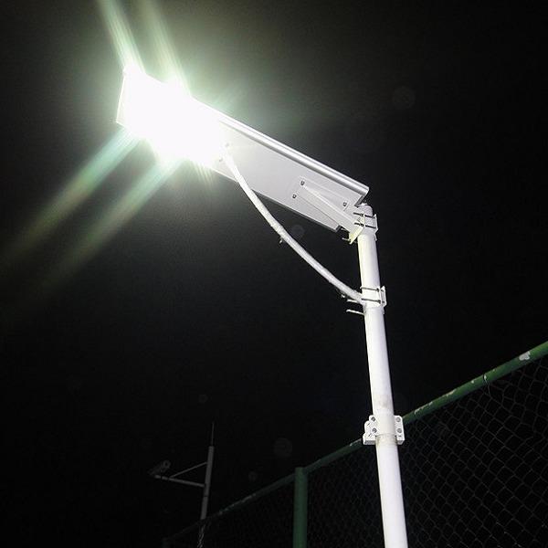 Bornes  Lampadaires solaires puissants  Eclairage solaire puissant  Objetsolaire