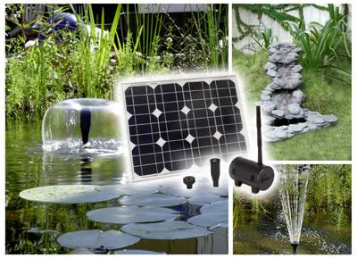 pompe fontaine solaire jet d eau pour
