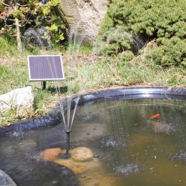 pompe fontaine solaire jet d eau 150l h sp1