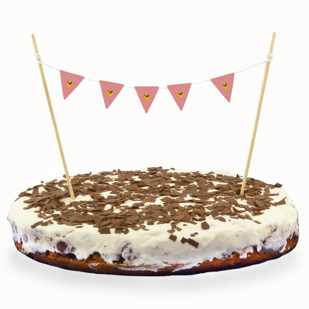 Torten Topper Kuchen Aufsatz Torten Wimpel Kette Kuchen