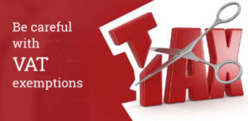 VAT exemptions