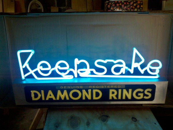 Philadelphia Jewelry Store Keepsake Neon Sign