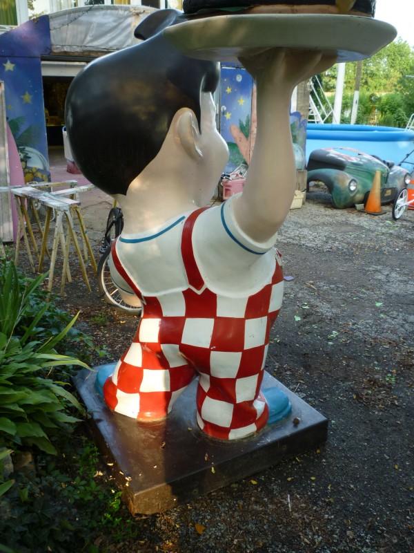 Vintage Bob S Big Boy Statue 171 Obnoxious Antiques