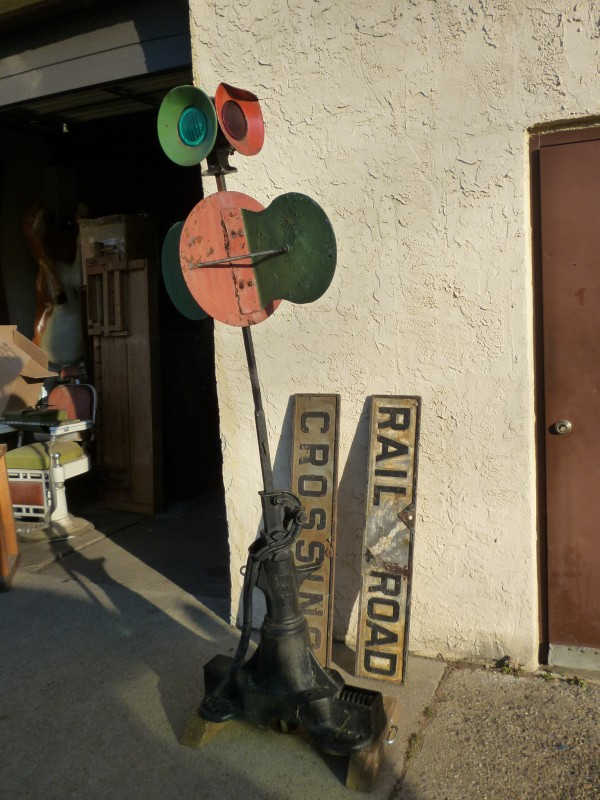Antique Railroad Switch Signal 171 Obnoxious Antiques