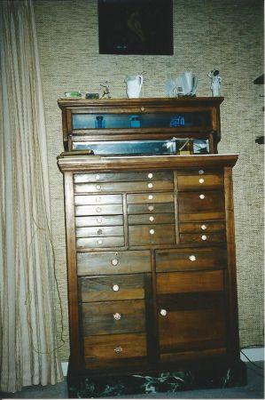 Antique Dental Cabinet  Obnoxious Antiques