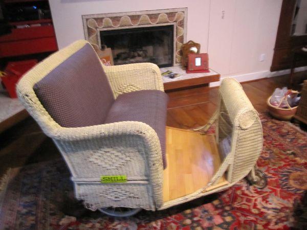 Atlantic City Boardwalk Rolling Chair  Obnoxious Antiques