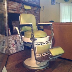 Used Barber Chair For Sale Hammock Stand Rural King Antique Paidar Porcelain Shop Obnoxious Antiques 4