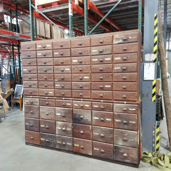 Antique Hardware Store MultiDrawer Cabinet  Obnoxious Antiques