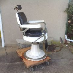 Antique Barber Chairs Used Kitchen For Sale Hercules Shop Chair By Berninghaus. « Obnoxious Antiques