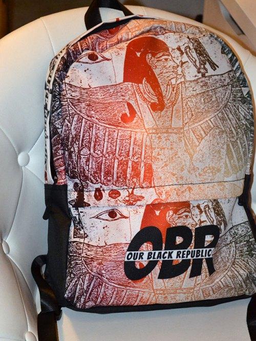 Our black Republic OBR Real Kush Backpack