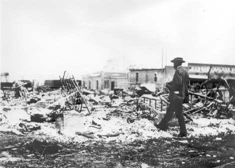 Tulsa race riot massacre remains