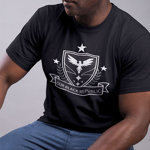 obr black republic streetwear mens clothing tshirt