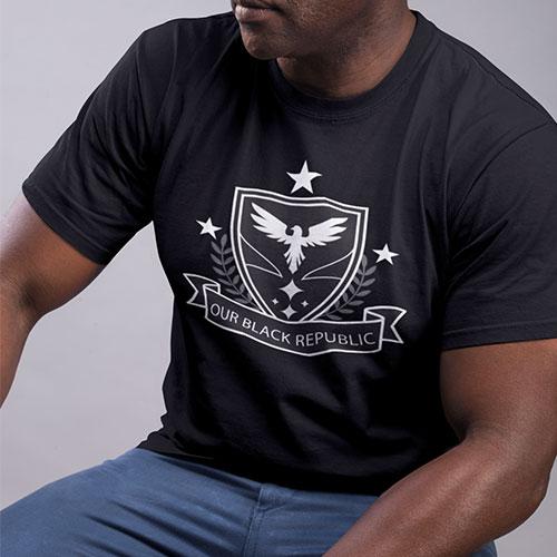 obr black republic streetwear mens clothing tshirt