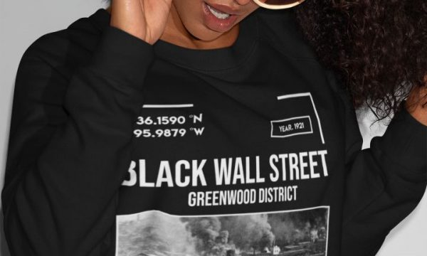 Black-wall-street-womens-tshirt-Tulsa-oklahoma