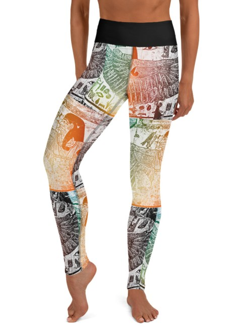Real Kush Yoga Leggings