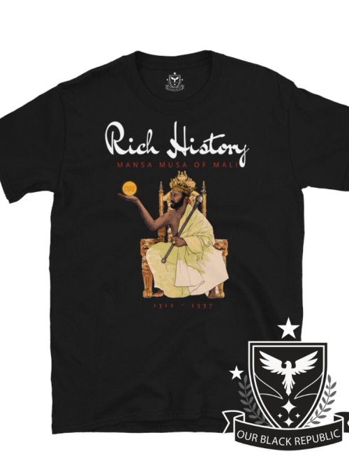 Mansa Musa of Mali black shirt