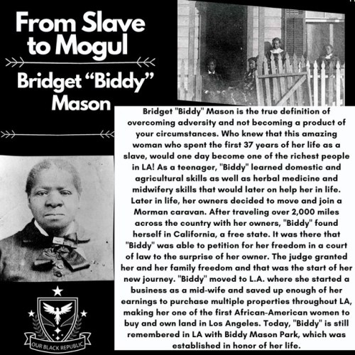 Bridget Biddy Mason From Slave to Mogul