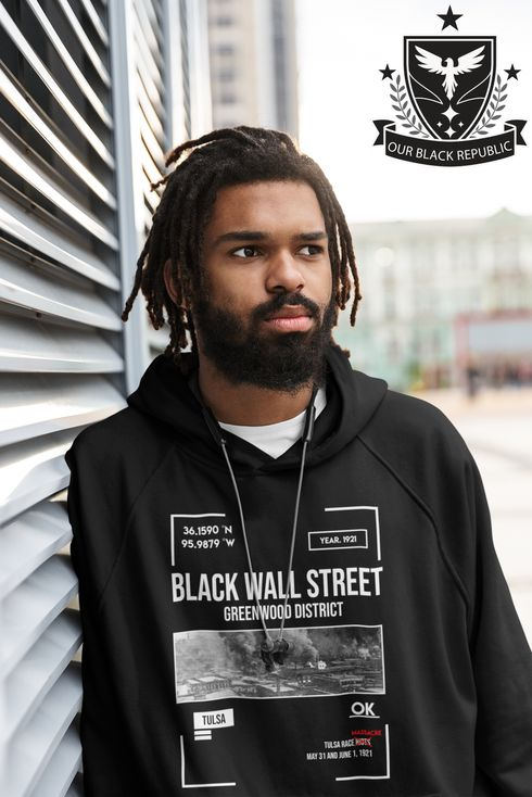 Hoodie-Tulsa-Oklahoma-Black-Wall-Street-Greenwood-District-Hoodie