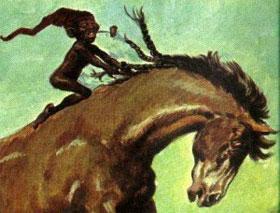 Imagem do folclore saci pererê
