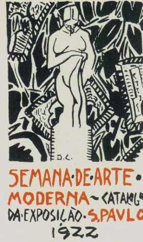 Ilustração Semana de Arte Moderna - 1922