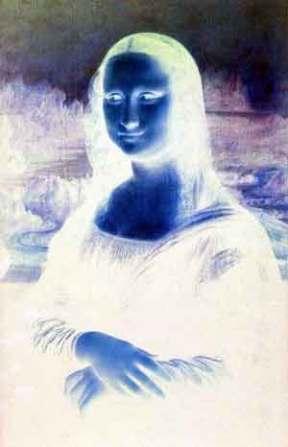 Pesquisa revela invento científico mais importante da história (Raio-X do quadro Mona Lisa - creative commons)
