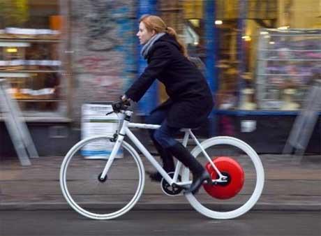 A tecnología implementada nesta bicicleta está inspirada na F1. (Foto: EP)