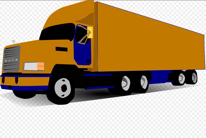 Caminhão e rodovias federais