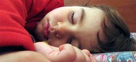 Obesidade infantil - crianças que dormem mais correm menos risco