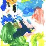 Ane - desenho Azul e Verde