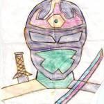 Jaderson - desenho heroi
