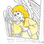 Lucas - desenho - anjo