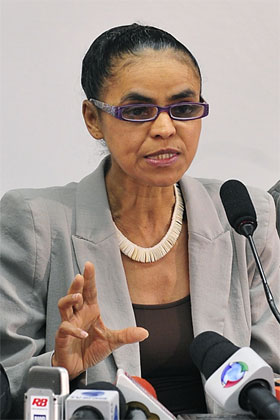 Marina Silva organiza abaixo-assinado contra Código Florestal