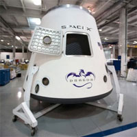 Foto Dragon - SpaceX