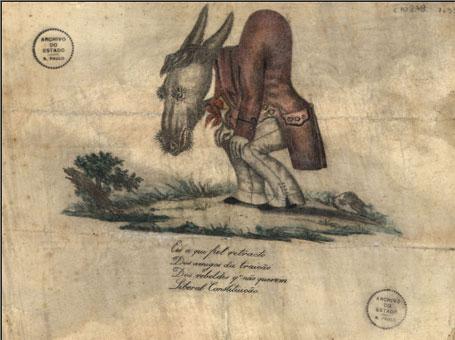 Imagem manuscritos na história do país