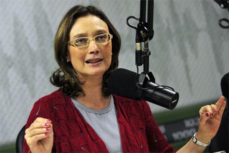 Foto da ministra Maria do Rosário